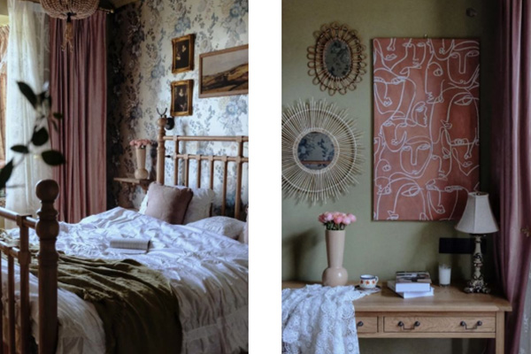 复古风卧室装修效果图