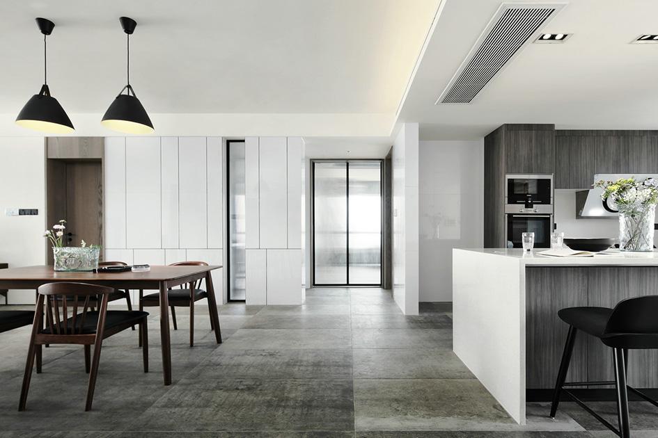 极简风格客厅设计