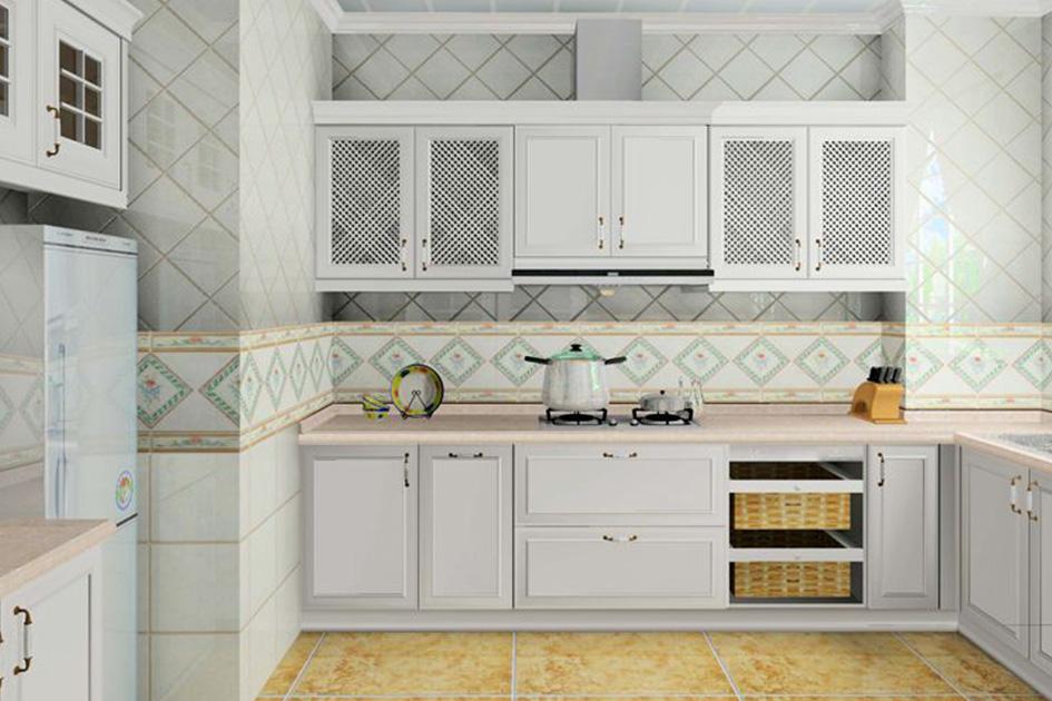 厨房家具摆放