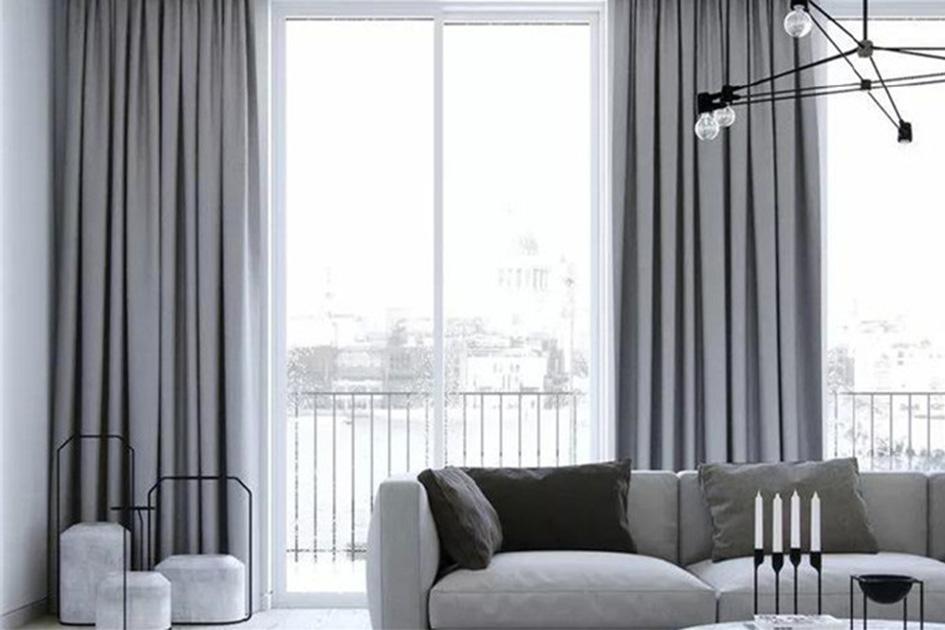 窗帘的效果图