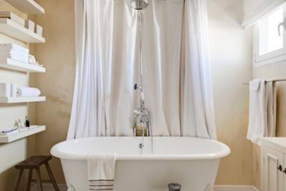 浴帘杆怎么安装