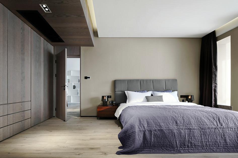 极简风卧室