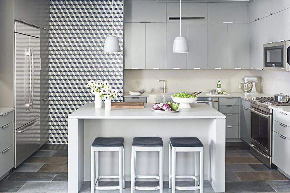 厨房地砖效果图