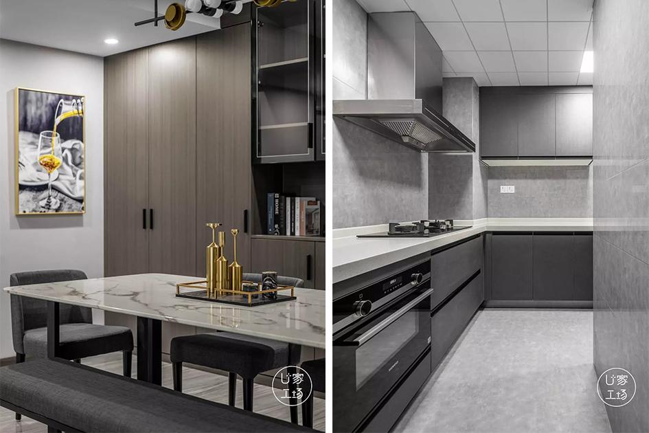 北欧风格厨房装修