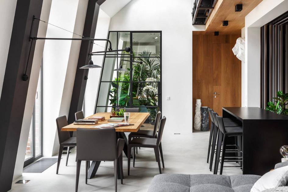 工业风装修餐厅