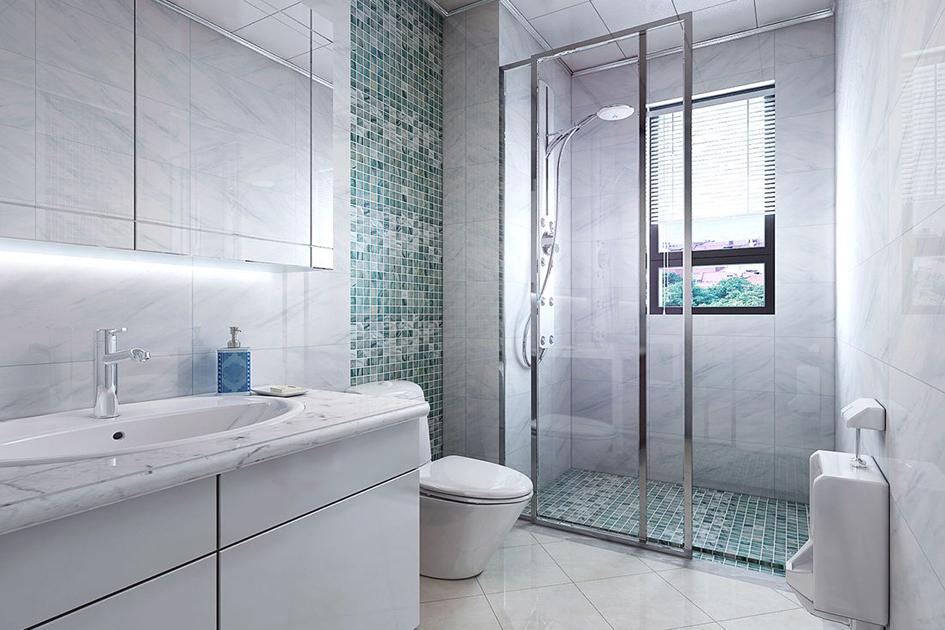 浴室隔断门装修效果图