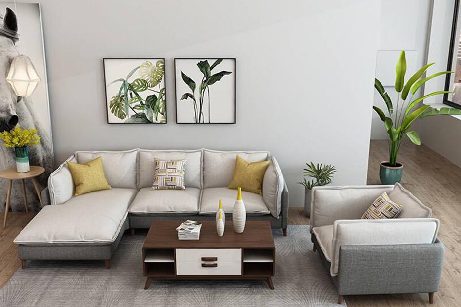 客厅沙发背景挂画