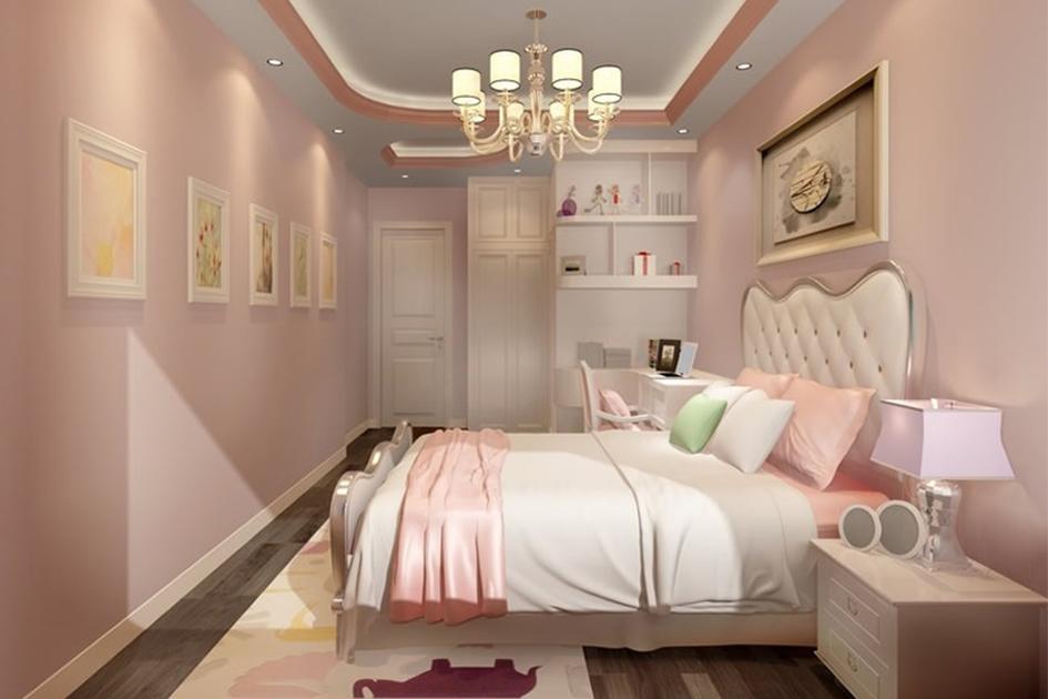女生卧室的装修效果图