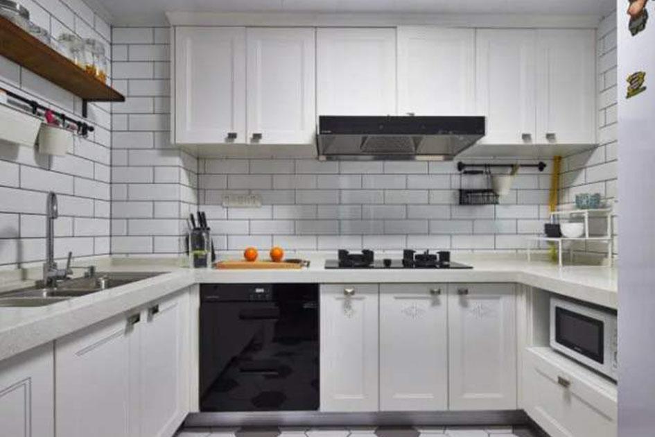 U型厨房橱柜设计