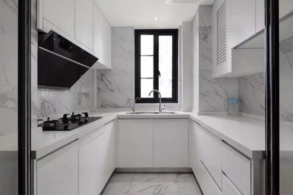 U型厨房怎么设计
