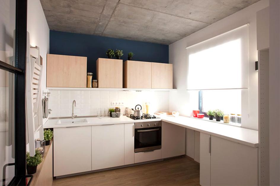 小户型厨房颜色搭配
