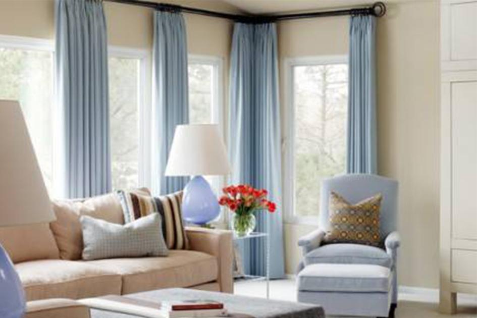 客厅窗帘颜色搭配