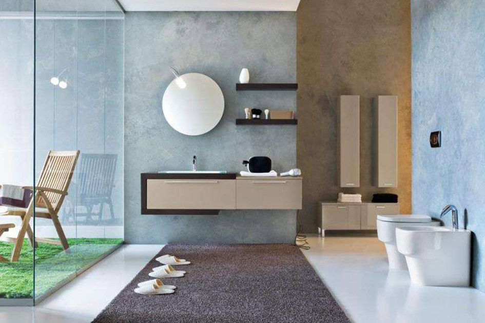 卫生间墙地砖颜色搭配