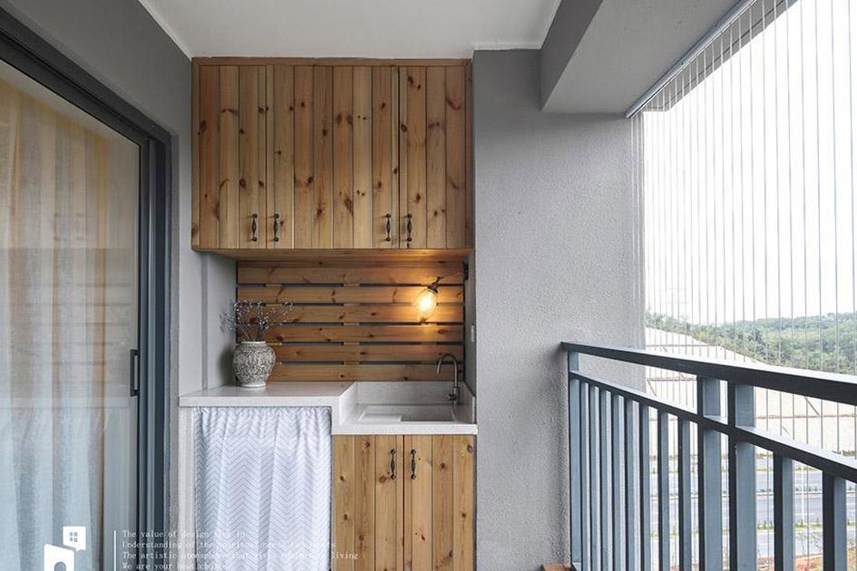 小户型阳台装修图