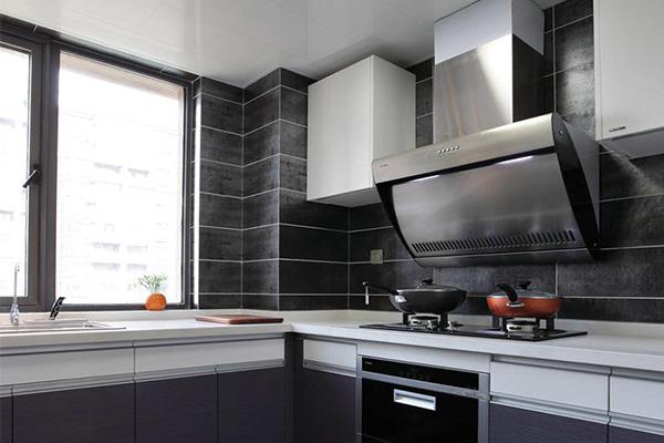 厨房铺什么颜色瓷砖好