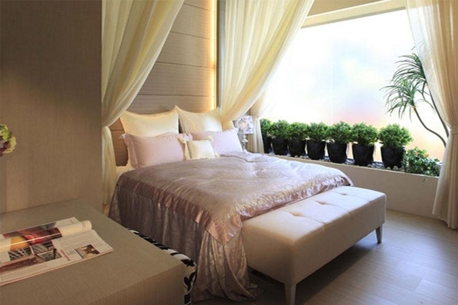 卧室能养花吗