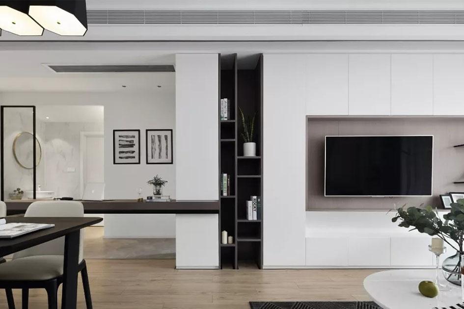 电视墙设计效果图