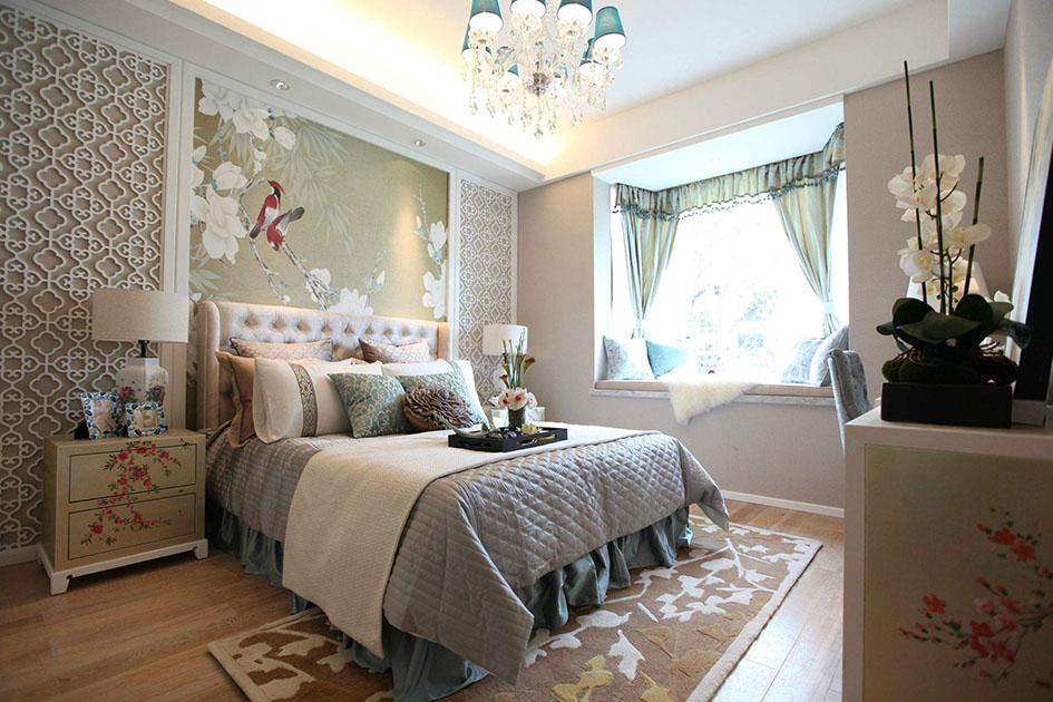 卧室装修田园风格