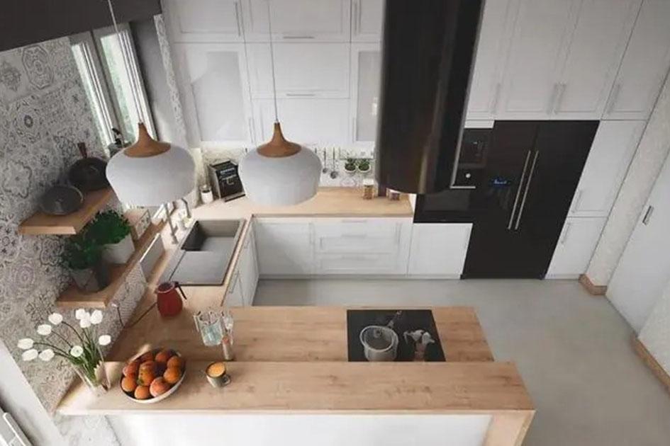 厨房地砖清洁小妙招