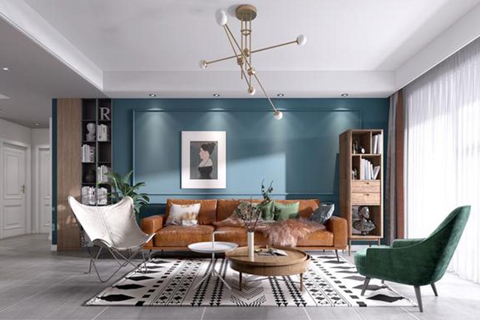 不规则客厅设计