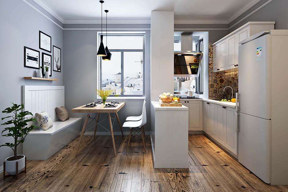 旧厨房改造效果