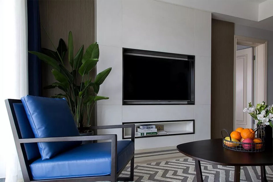 电视背景墙的设计原则