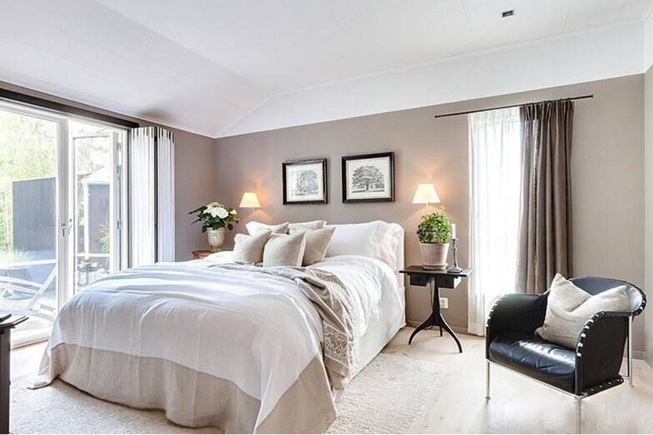 卧室铺地板