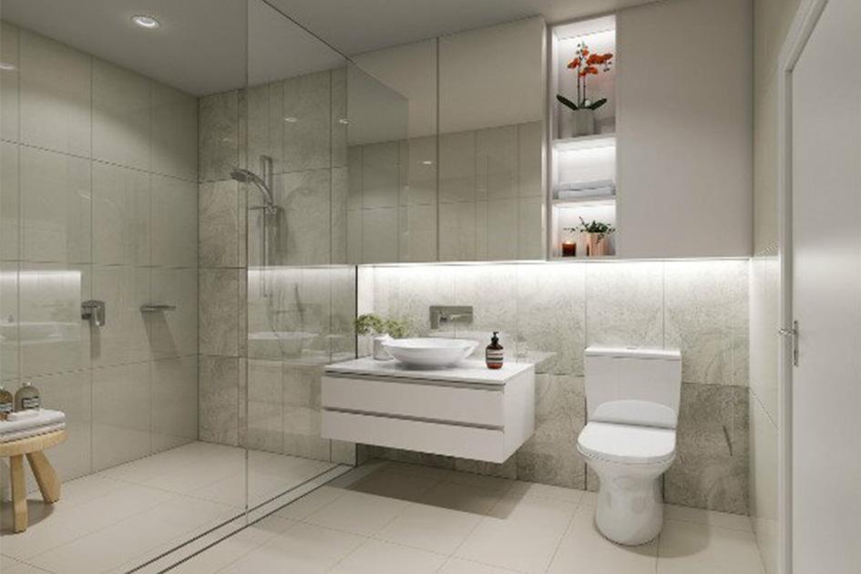卫生间装修风格效果图