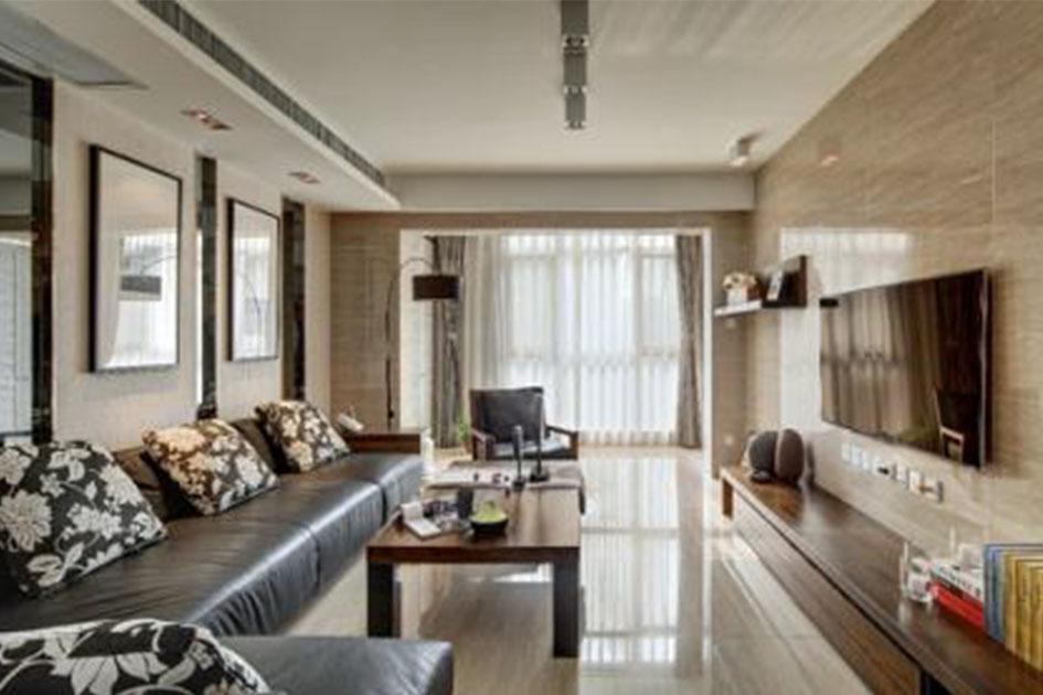 客厅瓷砖搭配