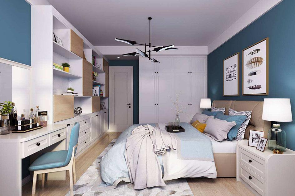 北欧卧室墙面装饰