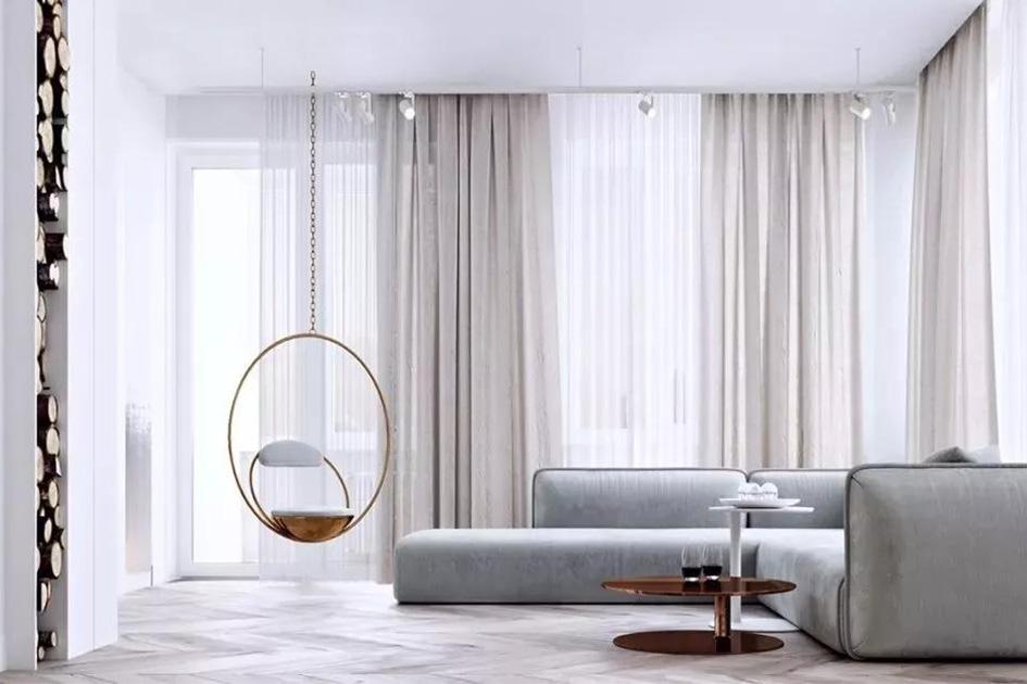 窗帘沙发颜色搭配