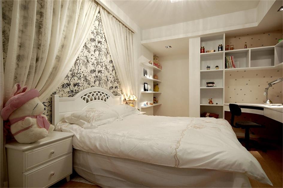 女生卧室装修图