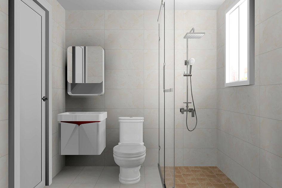 小面积卫生间