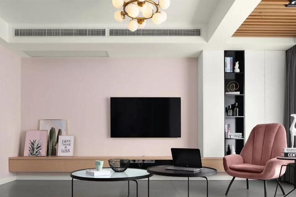客厅墙漆颜色搭配