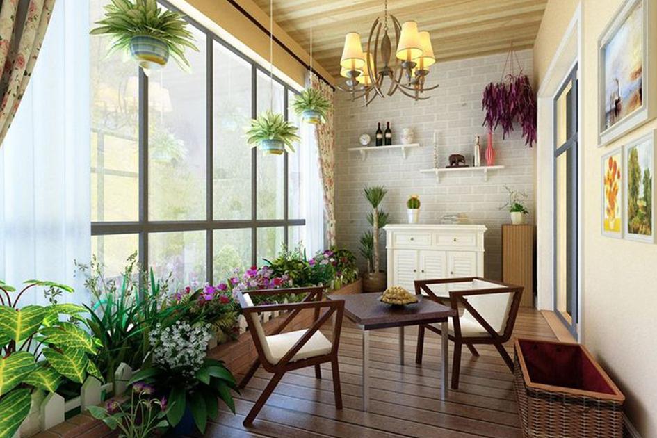 花园阳台设计