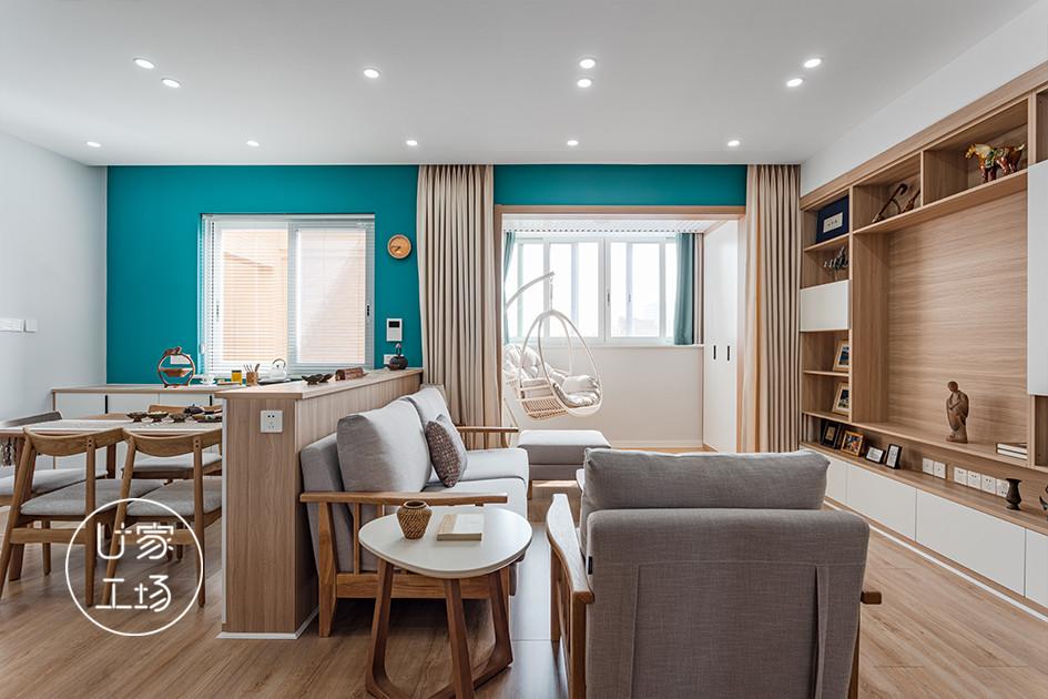 客厅地板颜色