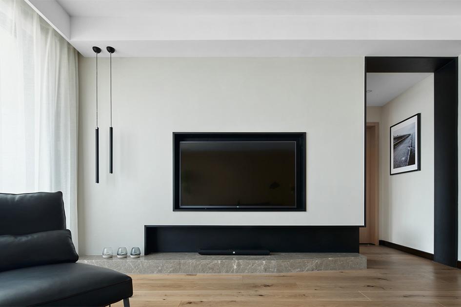 电视背景墙软装