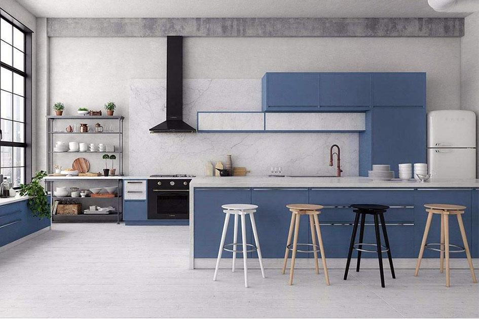 厨房装修用什么颜色