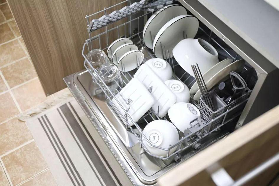 小厨房如何装洗碗机
