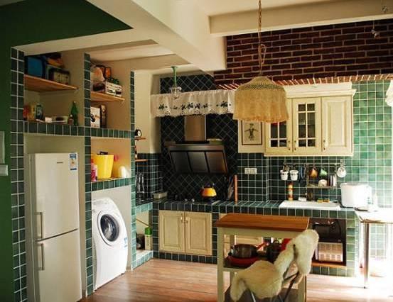 厨房怎么装修瓷砖