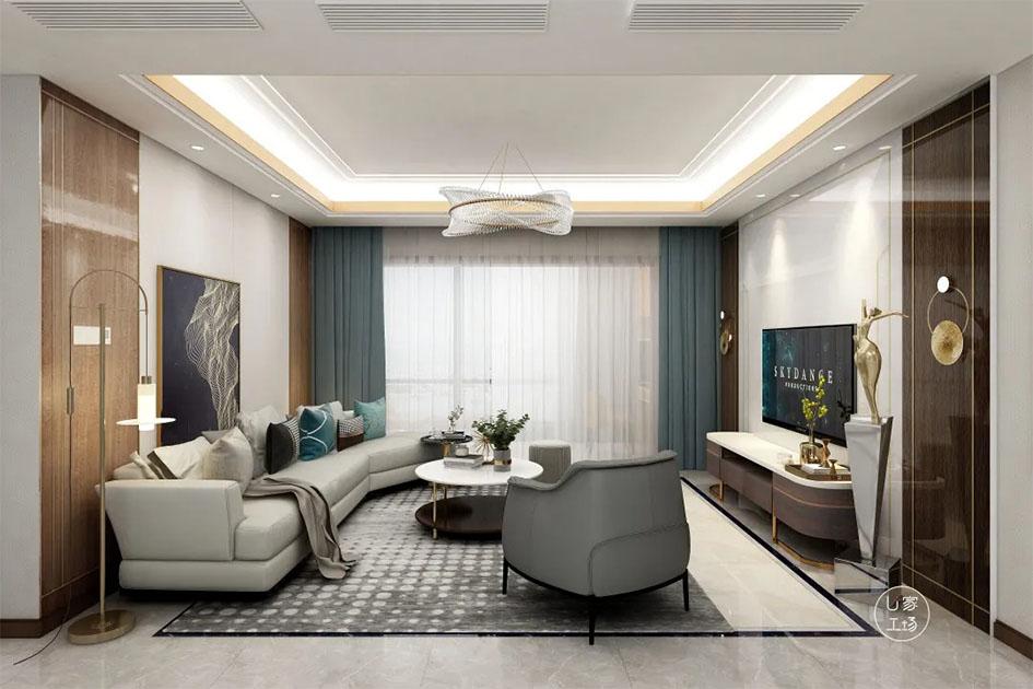 客厅装修颜色