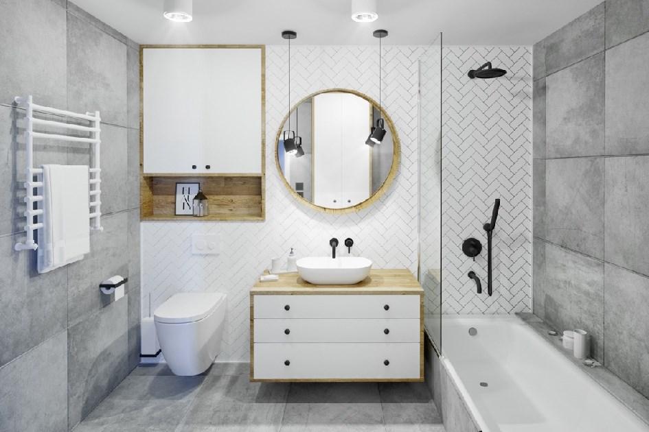 卫浴间防水施工