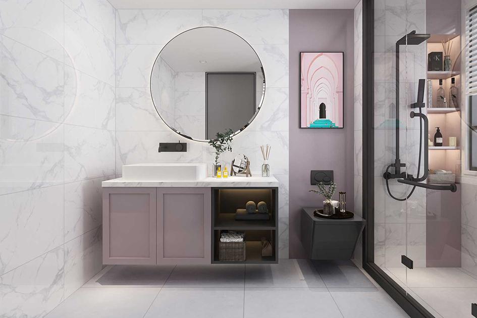 浴室玻璃门怎么清洁
