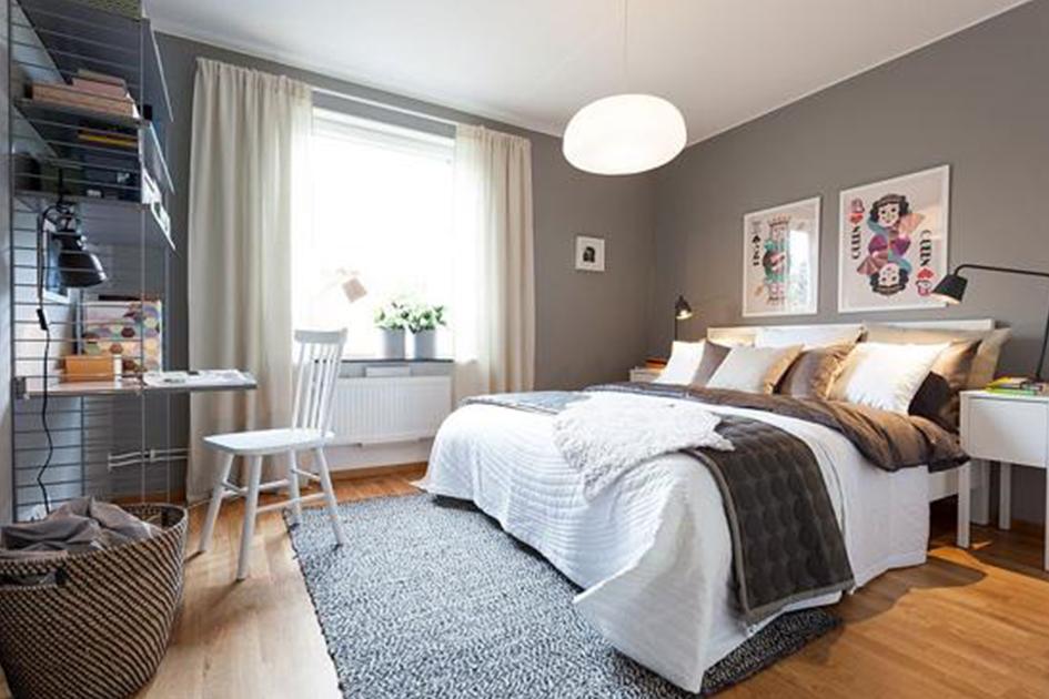 卧室软装色彩搭配