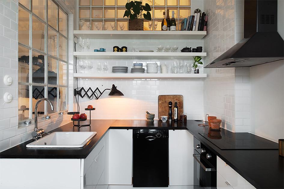 半开放式厨房装修