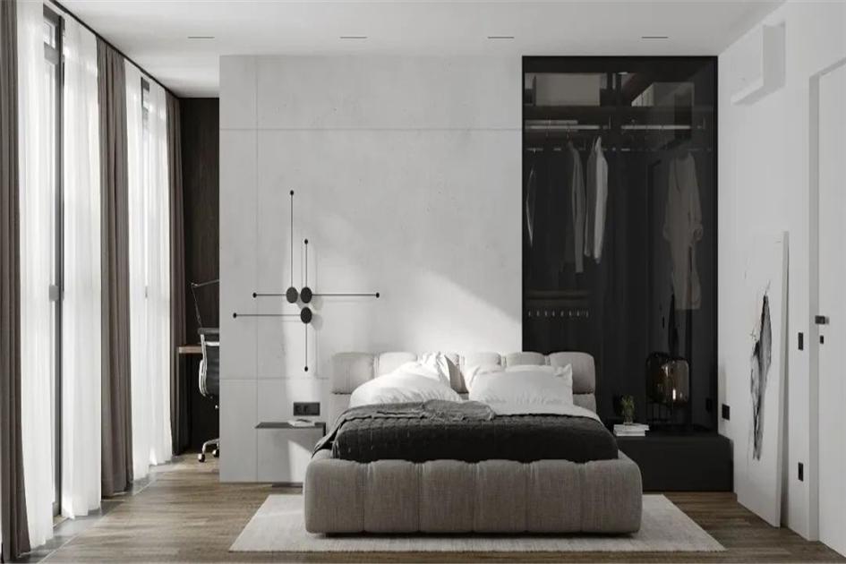 卧室收纳储物床