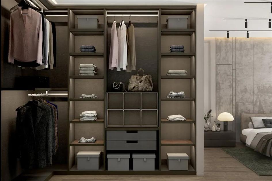 衣柜如何摆放