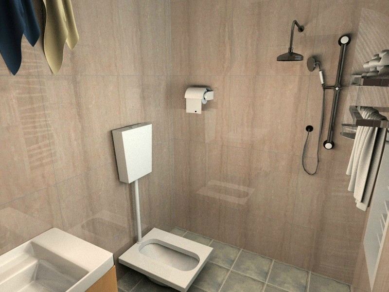 卫生间蹲便器安装方法