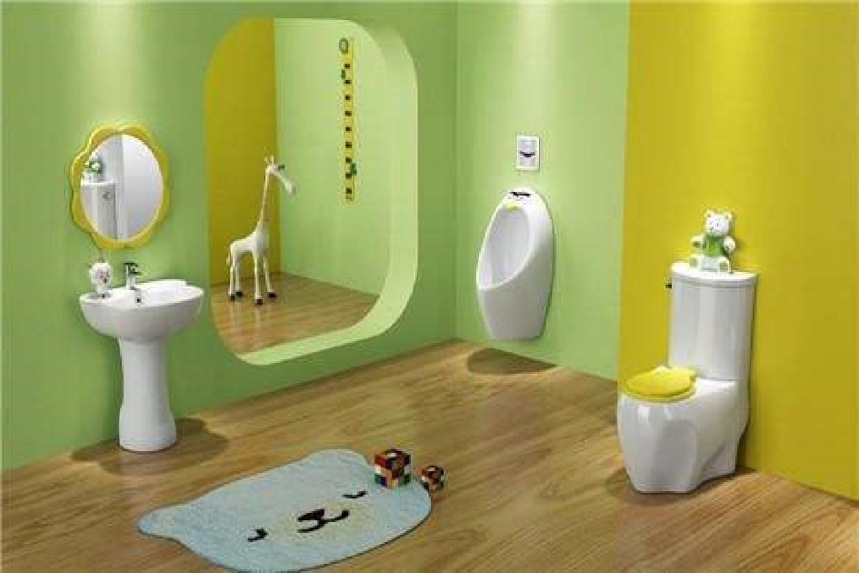 儿童浴室洗澡