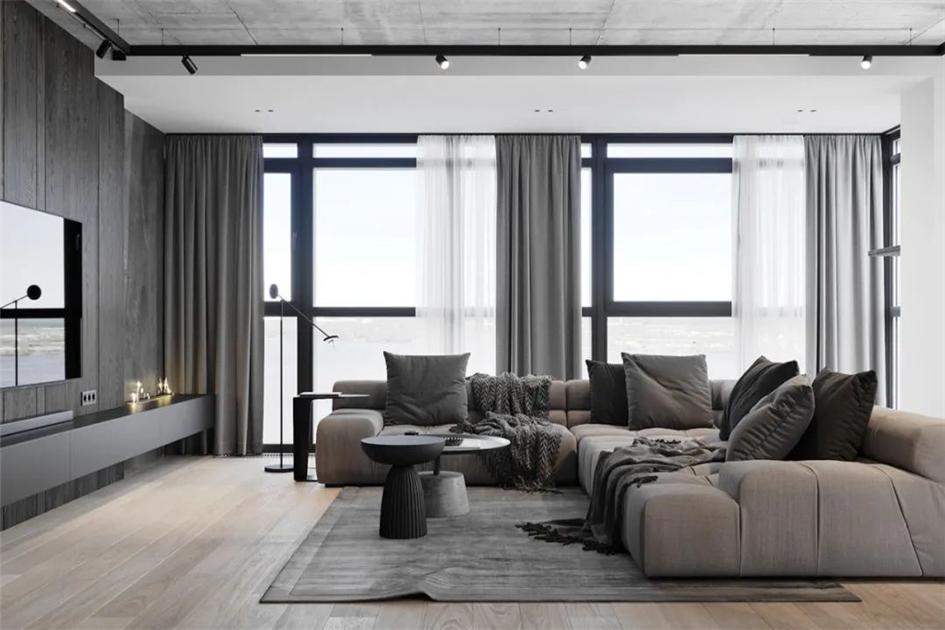 现代客厅墙面装修